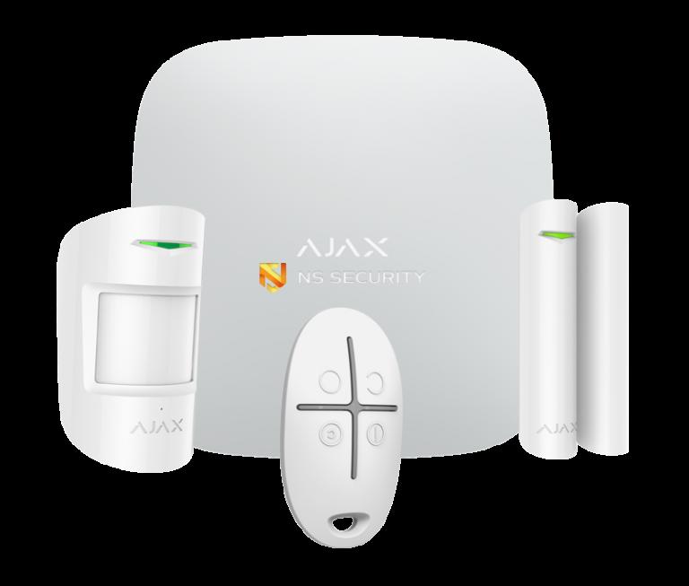AJAX hub kit high res white